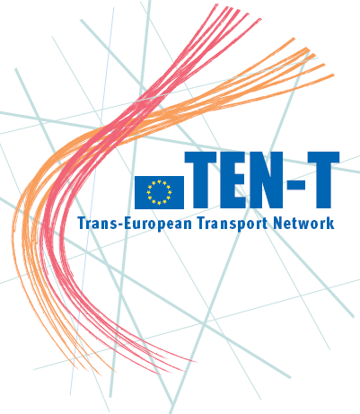 Image result for trans european transport network logo