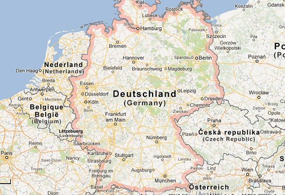 Google Maps Could Be Banned In Germany - Germany map google
