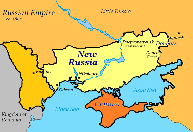 "Fighting for ""New Russia"" 