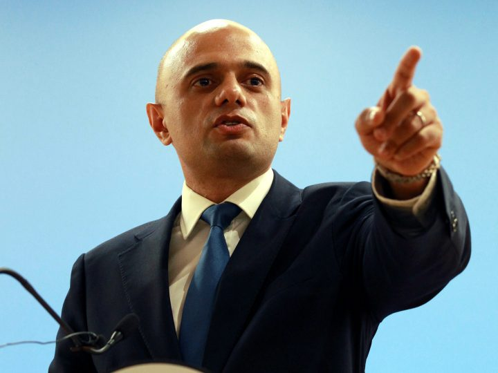 epa05396624 British Secretary for Business Innovation and Skills, Sajid Javid speaks at a press conference at the Ministry in London, Britain, 28 June 2016. Javid the same day chaired the first post-EU referendum meeting with business leaders.  EPA/SEAN DEMPSEY