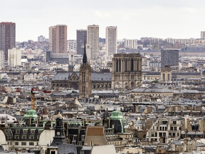 epa05271894 Picture taken on 15 April 2016 of a general view of the Paris skyline seen from the hilltop in Montmartre in Paris, France. Paris, the capital and most populous city of France, is situated on the river Seine in northern France. The city was named after a Celtic tribe that settled in the area in the third century BC. Known as the City of Light, Paris has an artistic and cultural influence on the world that is beyond compare and still sets the global agenda for culture, cuisine, and fashion. Paris is renowned for the architecture of its grand avenues and has always been at the heart of momentous events in French history. Paris will be one of the host cities of the UEFA EURO 2016 soccer championship.  EPA/IAN LANGSDON