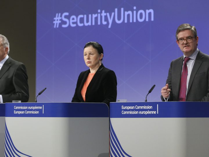 EU Commission weekly meeting - Security Union