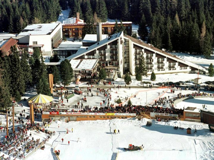 OLY12-19990609-POPRAD, SLOVAKIA: This undated file photo shows the FIS hotel at the sporting complex in Otrbska Pleso in the High Tatras in Slovaia. The venue is located near the city of Poprad which is bidding to host the 2006 Winter Olympic Games. Also in the race to stage the games are Sion in Switzerland, Zakopane in Poland, Klagenfurt in Austria, a joint Helsinki-Lillehammer bid and Turin (Sestriere) in Italy. The International Olympic Committee meets in Seoul on June 19th to choose which of the ski resorts has won the right to stage the Olympiad. EPA PHOTO/TASR/PAVEL NEUBAUER