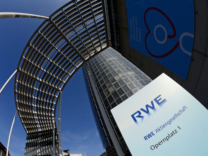 epa05847573 A general view of the corporate headquarters of the German electric utilities company RWE, Essen, Germany, 14 March 2017. RWE released their 2016 annual results saying it  forecasts a range of 5.4 billion euro to 5.7 billion euro for adjusted EBITDA for 2017, an increase from 2016 figure of 5.4 billion euro. RWE also said they anticipate an adjusted net income of between 1.0 billion euro and 1.3 euro billion after 0.8 billion euro last year.  EPA/SASCHA STEINBACH