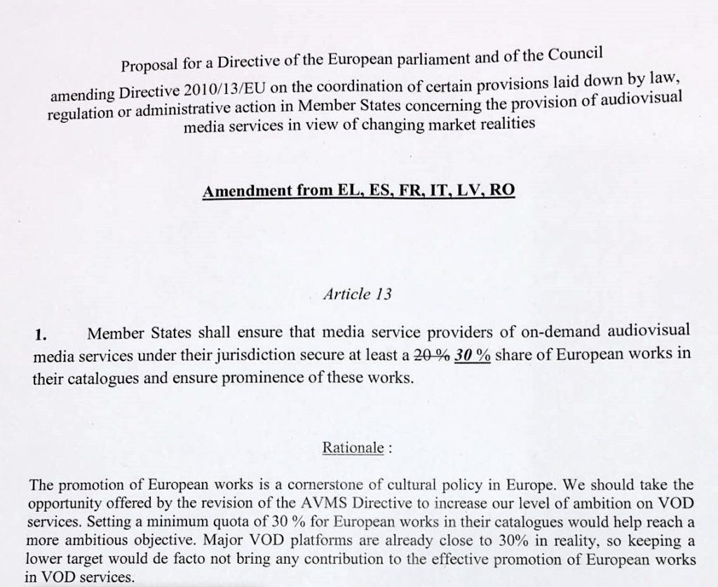 Greece's EU works amendment