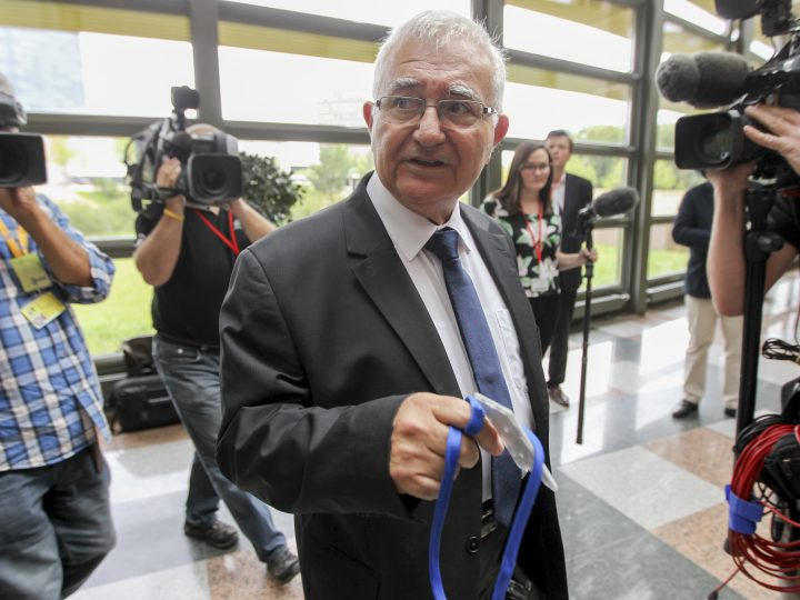 epa04303891 Former EU commissioner John Dalli arrives at a hearing by the European court of Justice in Luxembourg, 07 July 2014. On annulment of the oral decision of the President of the European Commission of 16 October 2012 to exercise his prerogative to require the applicant to submit his resignation as a member of the Commission, under Article 17(6) TEU, following an investigation report by OLAF and, secondly, an action for damages seeking compensation for the harm allegedly suffered by the applicant following that decision.  EPA/OLIVIER HOSLET