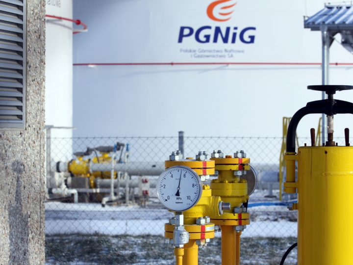 A picture made available on 06 January 2008 shows an exploitation gas and oil expedition base in Wierzbno, Poland, 05 January 2009. Deposits of gas and oil in Lubiatow, Miedzychod and Grotow are said to be the biggest in Poland. According to experts over 7.2 million tons of oil and around 5.5 milliard cubic meters of gas can be explored here. Poland is receiving reduced deliveries of natural gas from the eastern direction, Adam Szejnfeld, Deputy Economy Minister, said on 06 January 2008. Gazprom has cut gas supplies to Western Europe through Ukraine to 92 million cubic meters a day on 06 January 2009, Valentyn Zemliansky, a spokesman for the Ukrainian national energy trader Naftogaz Ukraine told Interfax earlier. This significant reduction in gas pressure at the entrance to the Ukrainian gas transportation system will inevitably lead to undersupply of the European consumers.  EPA/LECH MUSZYNSKI POLAND OUT
