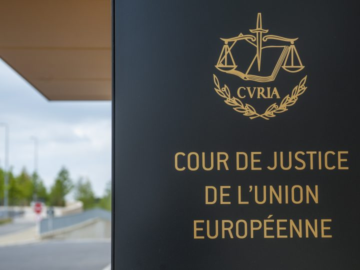 epa06187085 (FILE) - The European Court of Justice's (ECJ) entrance building prior to the hearing of the Shepherd case in Luxembourg, 25 June 2014 (reissued 06 September 2017). The ECJ on 06 September 2017 upheld the decision by the European Union (EU) to force member states to take in a quota of asylum seekers. It dismissed complaints by Hungary and Slovakia and said the EU had the right to order governments in this matter. A provisional mechanism for the mandatory relocation of asylum seekers was applied in 2015 to relocate refugees - mainly from Syria - arriving in Greece and Italy to other EU member states.  EPA-EFE/NICOLAS BOUVY
