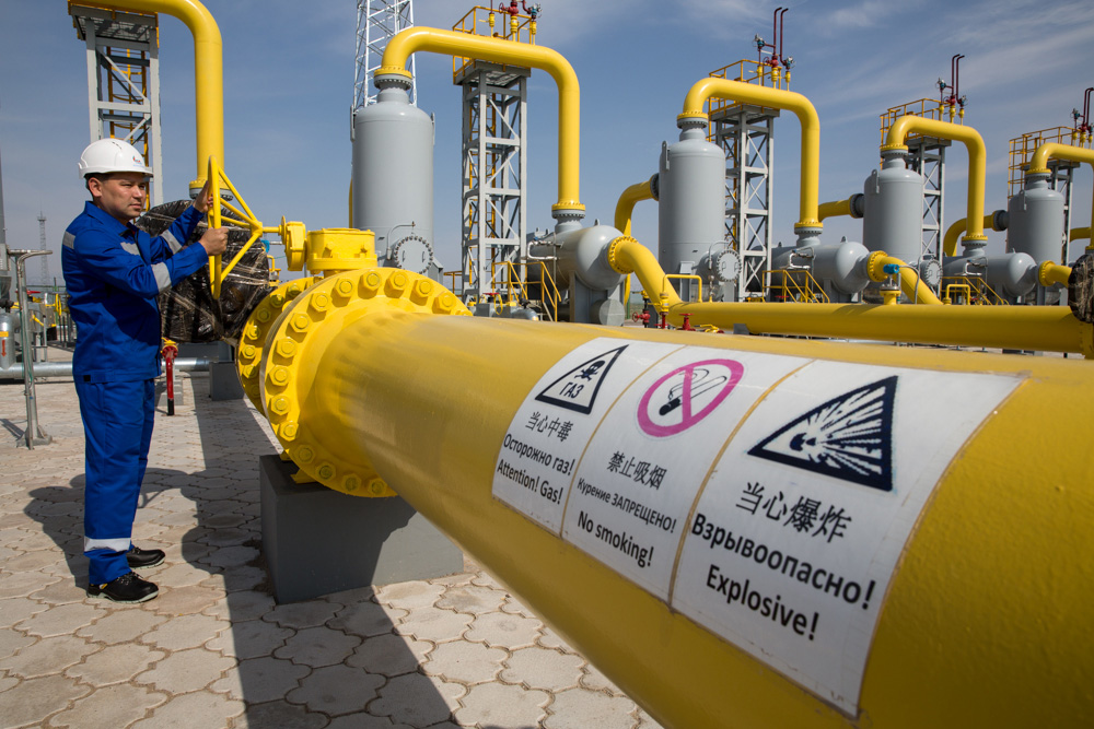 Image result for Kazakhstan to start exporting gas to China on October 15