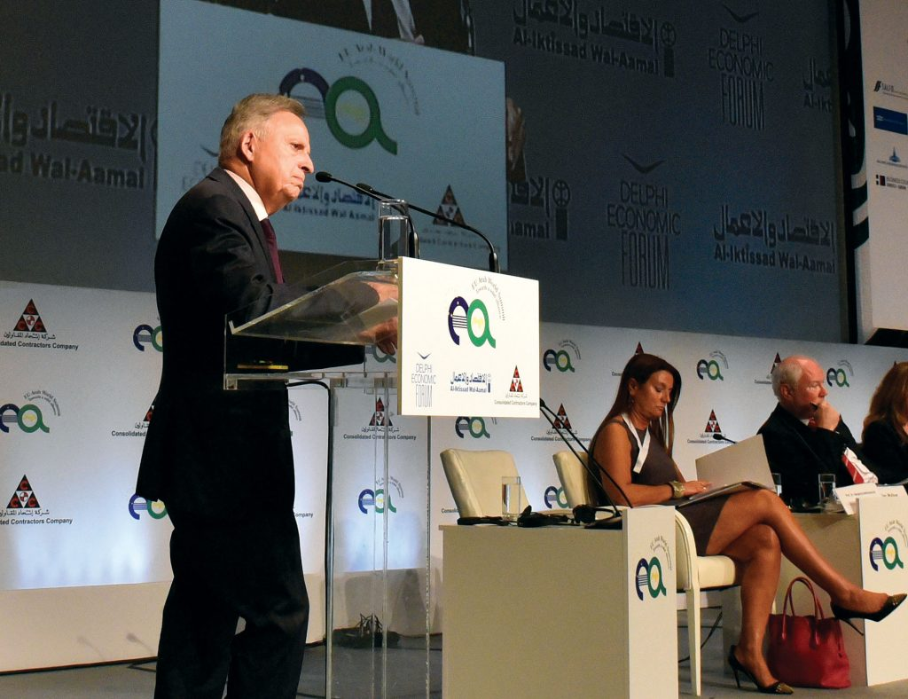 European Commission DG Energy Director General Dominique Ristori addresses the EU-Arab Summit in Athens, November 9, 2017. Ristori spoke to New Europe in an interview about fighting climate change and boosting EU energy security. EU-ARAB SUMMIT