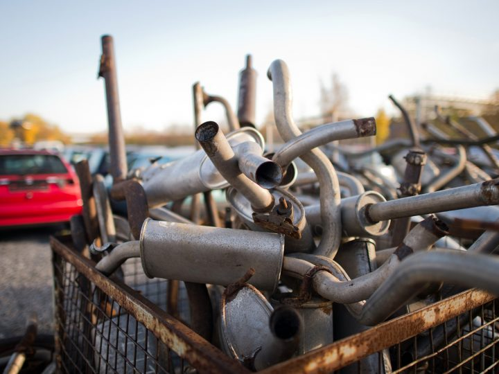 epa05012340 Old exhaust pipes lie in a junk yard in Peine,†Germany, 05 November 2015.  German prosecutors, who are already conducting a full-scale inquiry into the Volkswagen Dieselgate case, say they are studying whether the German carmaker's admission that carbon dioxide data is false also merits an inquiry. A preliminary study was under way to establish if Volkswagen's actions could have broken German law. That is the first step in German justice procedures before a full-scale inquiry is launched. The Dieselgate scandal widened this week when the group also admitted to CO2 emissions irregularities affecting up to 800,000 VW cars, which could cost Europe's biggest carmaker another 2 billion euros.  EPA/JULIAN STRATENSCHULTE