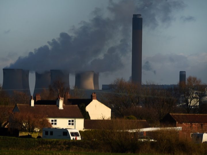 epa06476743 A view of a power plant outside Nottingham, Britain, 26 January 2018. The Uk's reliance on imported electricity from Europe is said to place Britain in a precarious situation with regard to disruptions in supply, price hikes or rationing of capacity from our current EU neighbours in future.  EPA-EFE/ANDY RAIN