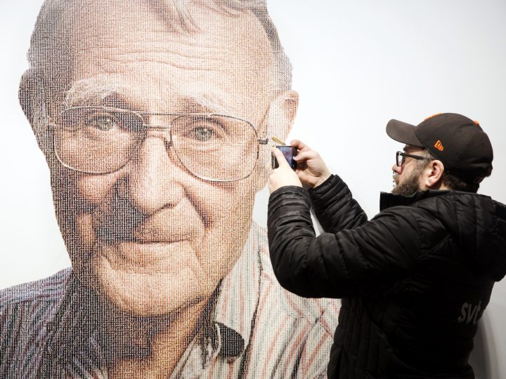 epa06481700 A visitor to the IKEA museum takes a photo with a mobile of a picture of Ingvar Kamprad, founder of Swedish multinational furniture retailer IKEA, in the entrance of the IKEA museum in Almhult, Sweden, 28 January 2018. Kamprad has died at an age of 91. The first ever IKEA store was opened in Almhult, and Kamprad grew up in the area.  EPA-EFE/OLA TORKELSSON  SWEDEN OUT