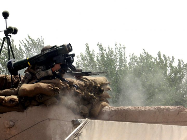 epa02269843 A British Ministry of Defence handout photograph dated 01 August 2010 shows soldiers from 1st Battalion the Duke of Lancaster's Regiment fire a Javelin missile in support of British forces during a contact with insurgent forces during Day 3 of Operation TOR SHEZADA in Helmand Province, Afghanistan. The British Ministry of Defence reports that progress has been good on the operation and despite challenging conditions, the troops have cleared large areas of the key route into Sayedebad, removing numerous Inprovised Explosive Devices (IED) and ultimately increasing security in the area.  EPA/BRITISH MINISTRY OF DEFENCE/HANDOUT MANDATORY CREDIT/ CROWN COPYRIGHT EDITORIAL USE ONLY/NO SALES