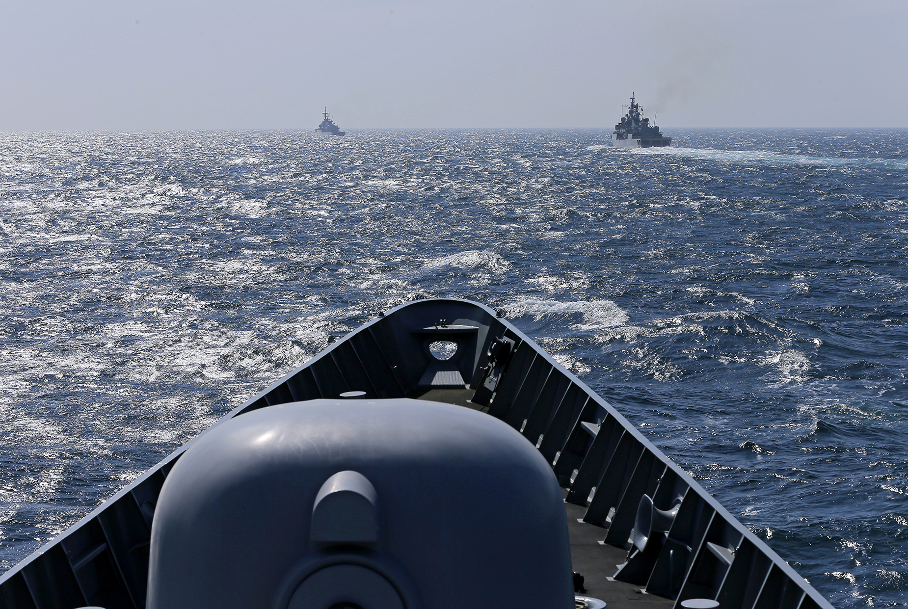 Routine patrol in the Black Sea to increase cooperation between NATO Allies