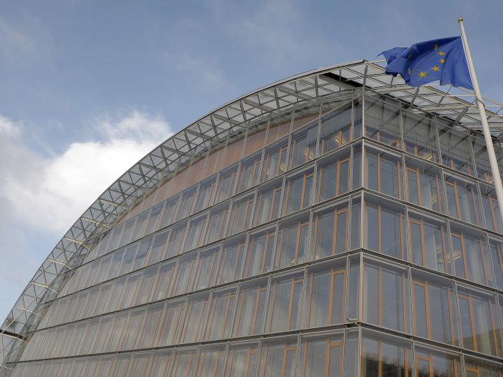 epa05101452 (FILE) A file photo dated 15 December 2008 showing an exterior view of the  European Bank of Investment in Luxembourg. The European Investment Bank has put on hold lending to the German carmaker Volkswagen, amid concerns that a previous loan may have played a role in its emissions scandal, the president of the European Union's lending arm Werner Hoyer says 14 January 2016. 'For many, many years we have been active in high-tech research and development with Volkswagen,' Werner Hoyer said in Brussels. 'We were astonished, disappointed and we are now concerned about the allegations, including indications by senior company executives of improper and possibly fraudulent behaviour by Volkswagen.'  EPA/NICOLAS BOUVY