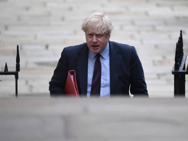 epa06600251 Britain's Foreign Secretary Boris Johnson arrives for a Cabinet meeting at Downing Street in London, Britain, 13 March 2018. Chancellor Philip Hammond is set to announce the state of the British economy in his Spring Statement at Parliament.  EPA-EFE/NEIL HALL