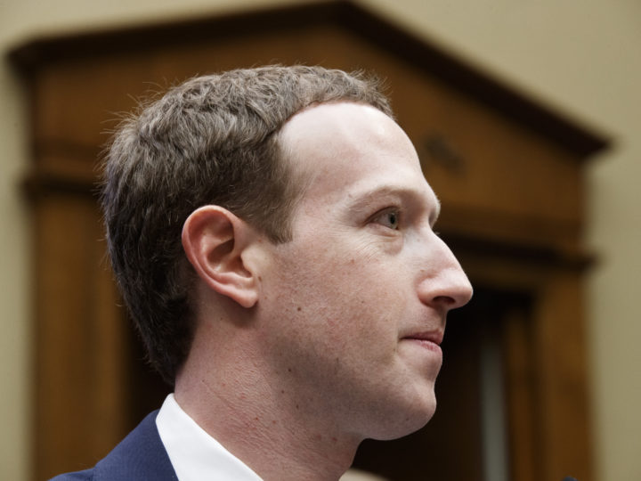 epa06662255 CEO of Facebook Mark Zuckerberg testifies before the House Energy and Commerce Committee hearing on 'Facebook: Transparency and Use of Consumer Data' on Capitol Hill in Washington, DC, USA, 11 April 2018. Zuckerberg is testifying before the second of two Congressional hearings this week regarding Facebook allowing third-party applications to collect the data of its users without their permission and for the company's response to Russian interference in the 2016 US presidential election.  EPA-EFE/SHAWN THEW