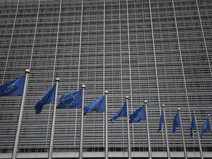 epa06688813 General view of the European Commission in Brussels, Tuesday, April 24, 2018. Turnbull is in Brussels to meet with officials from NATO and the European Council.  EPA-EFE/LUKAS COCH / POOL  AUSTRALIA AND NEW ZEALAND OUT