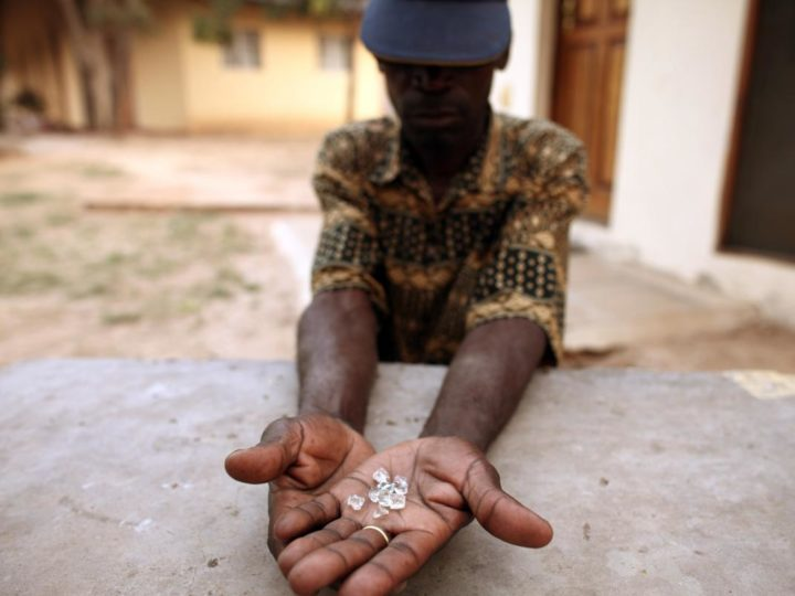 Zimbabwe Marange diamonds