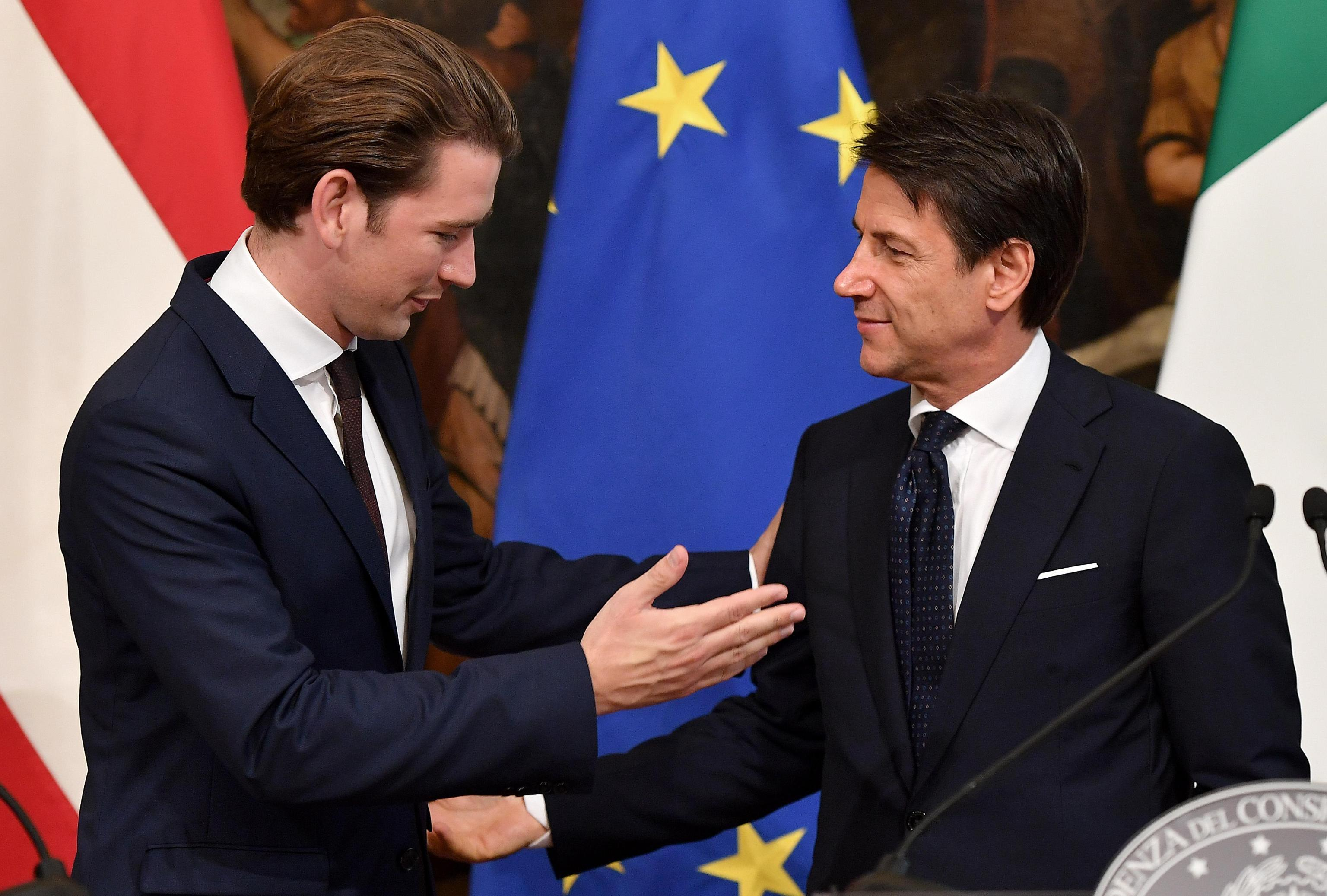 Austrian Chancellor Kurz says Commission must reject Italian budget