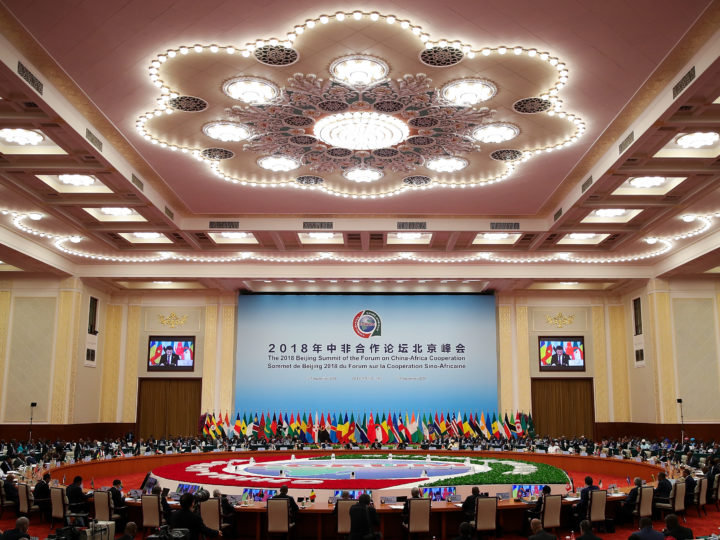 epa06995602 Delegates attend the 2018 Beijing Summit of The Forum on China-Africa Cooperation - Round Table Conference at the Great Hall of the People in Beijing, China, 04 September 2018.  EPA-EFE/LINTAO ZHANG / POOL