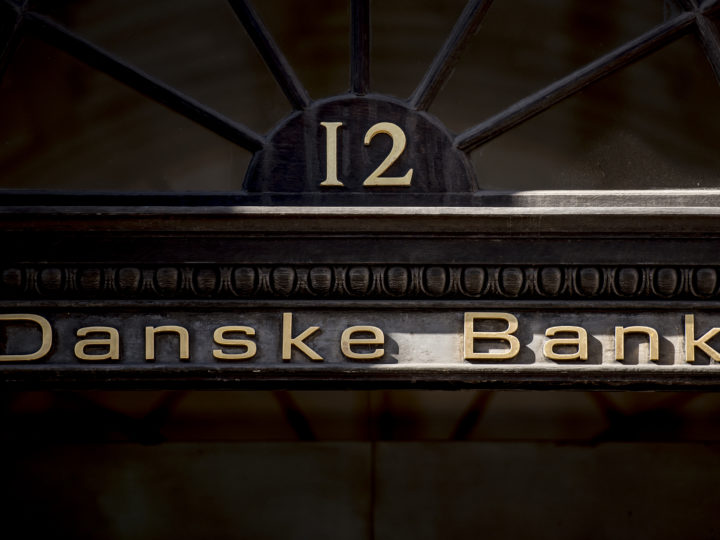 epa07072109 (FILE) - Danske Bank in Copenhagen, Denmark, 25 September 2018 (reissued 05 October 2018). Media reports on 05 October 2018 state that the Danish bank, 'Danske Bank' lost some 11 per cent of its market value following the alleged money laundering scandal involving its Estonian branch. The transactions of some 235 billion USD that passed through the branch between 2007 and 2015 are being discussed as being suspicious.  EPA-EFE/MADS CLAUS RASMUSSEN DENMARK OUT