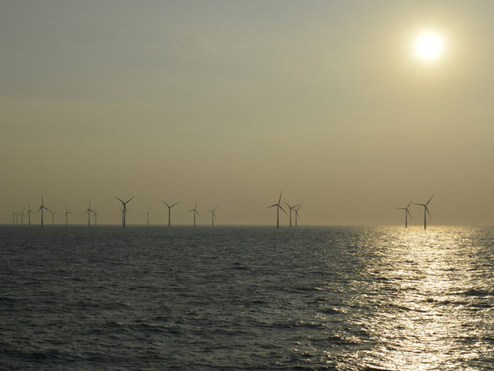 epa04855527 A general view of the Sheringham Shoal wind farm installations, located between 17 to 23 kilometres off the coast of Norfolk in Britain, 12 June 2015. The wind farm is jointly owned by Statoil and Statkraft through their joint venture company Scira Offshore Energy Limited. According to Statoil, the wind farm covers an area of about 35 square kilometers. Every of the 88 wind turbines has a capacity of 3.6 MW. The wind farm generates a total of 1.1 Twh of electricity, which is enough to power 220,000 homes in Britain.  EPA/MAURITZ ANTIN