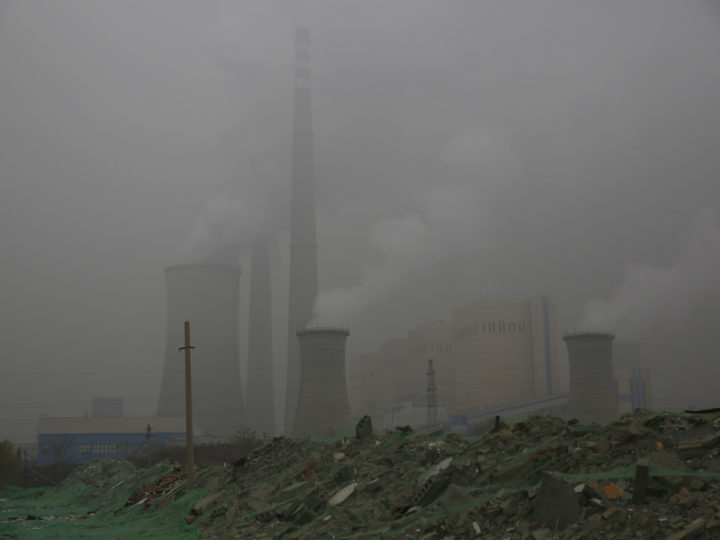 epaselect epa07203122 A view shows a power plant operating during a polluted day in Beijing, China, 02 December 2018.  According to a report by the UN, CO2 emissions have gone up for the first time in four years. The report comes just days ahead of the COP24 United Nations Climate Change Conference taking place in Poland from 02 to 14 December.  EPA-EFE/WU HONG