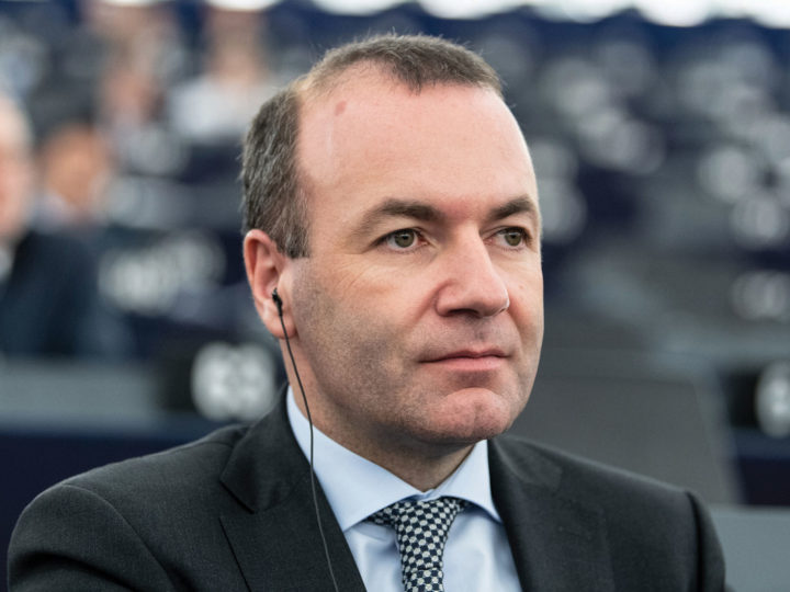 Chairman of the EPP Group in the European Parliament Manfred Weber at the European Parliament in Strasbourg, February 12, 2019. EPA-EFE/PATRICK SEEGER