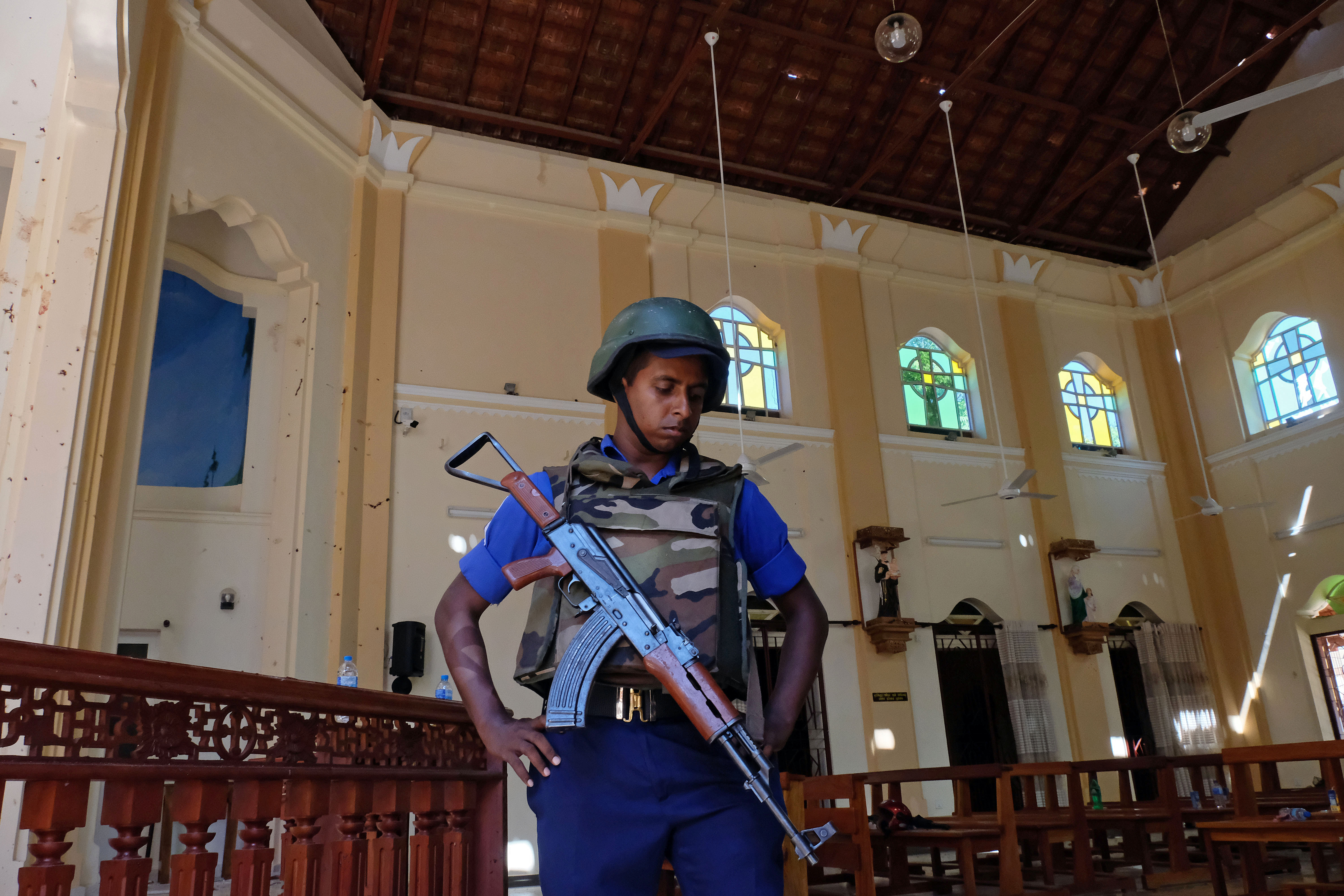 ISIS claims responsibility for Sri Lanka attacks