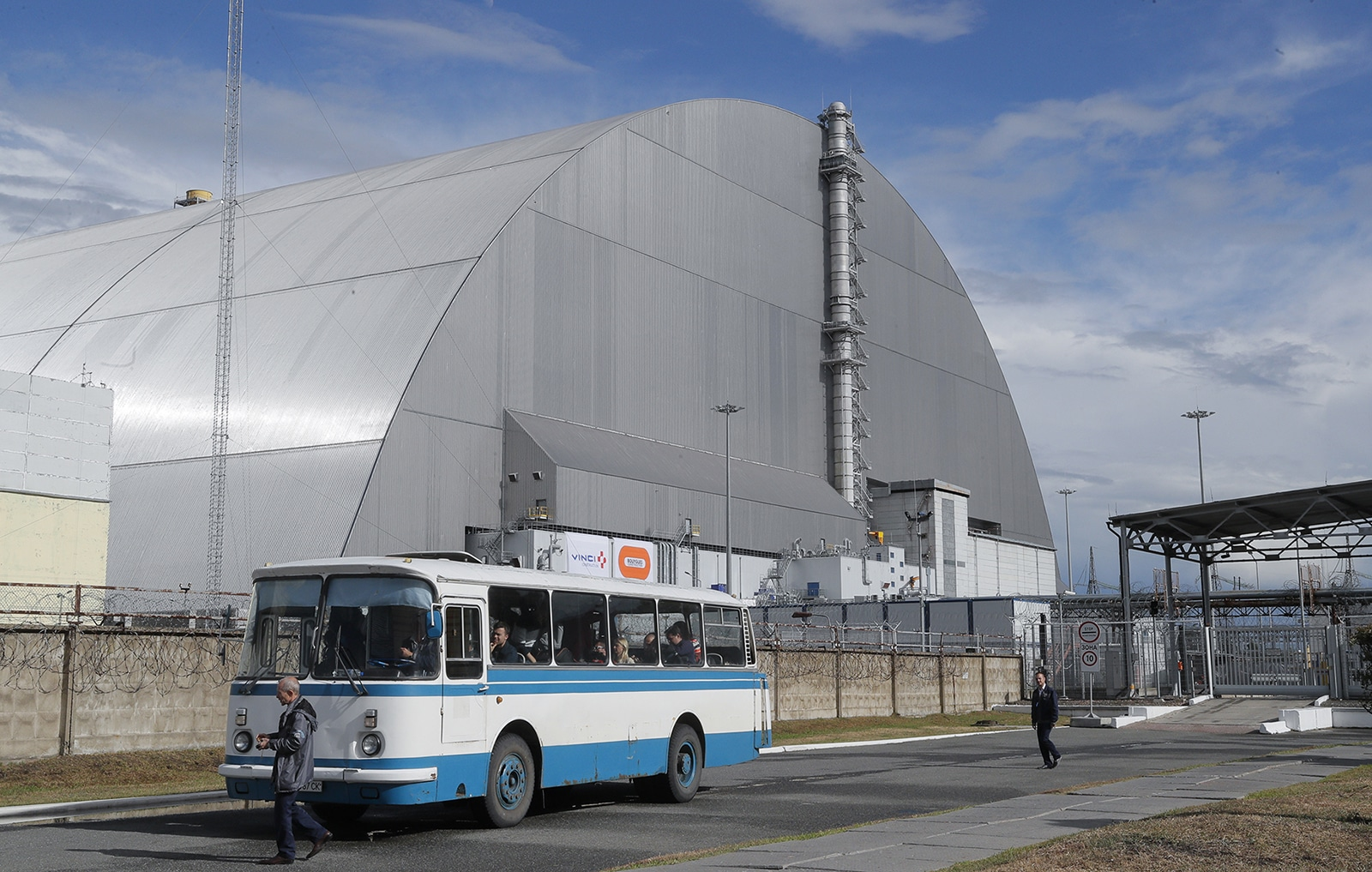Chernobyl New Safe Confinement Concluded New Europe
