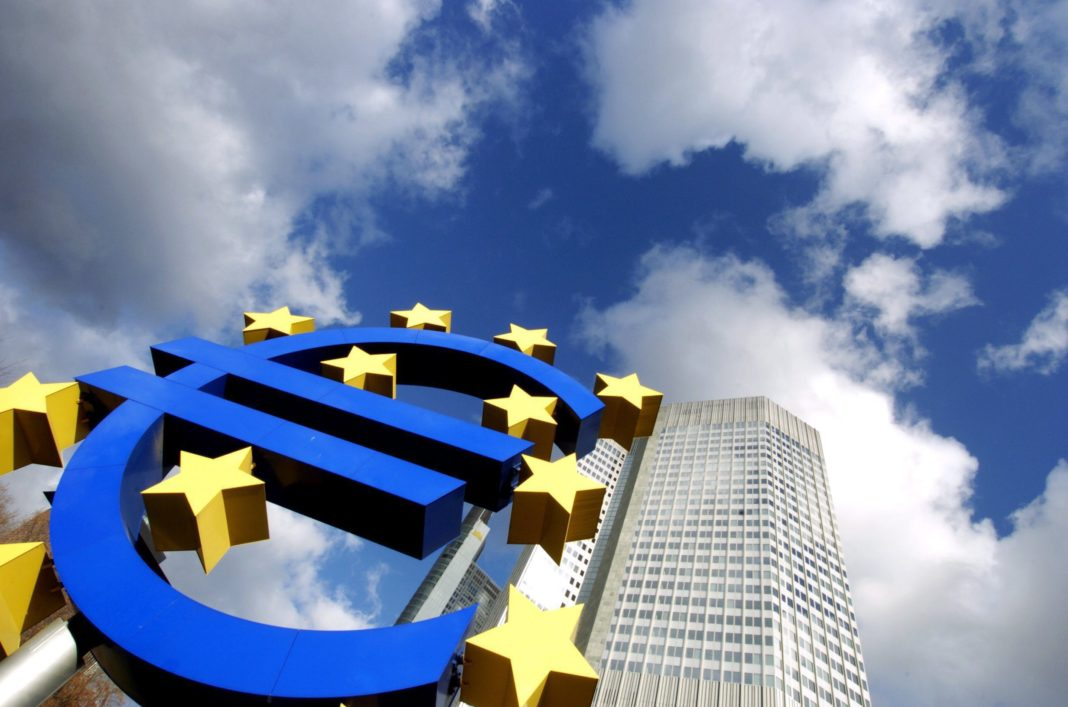 Annual inflation down in euro area