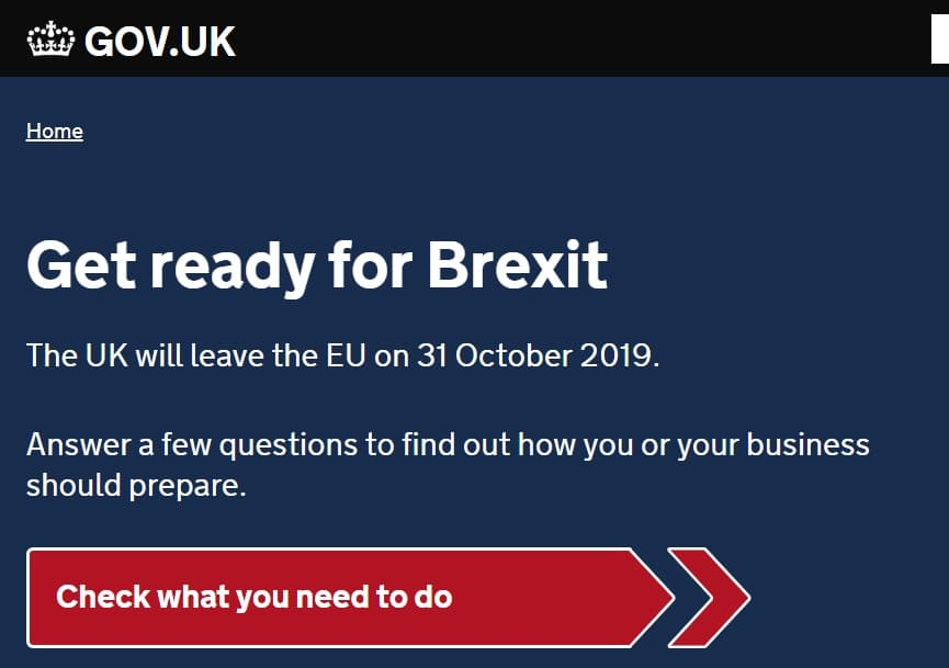 United Kingdom launches 'get ready for Brexit' campaign