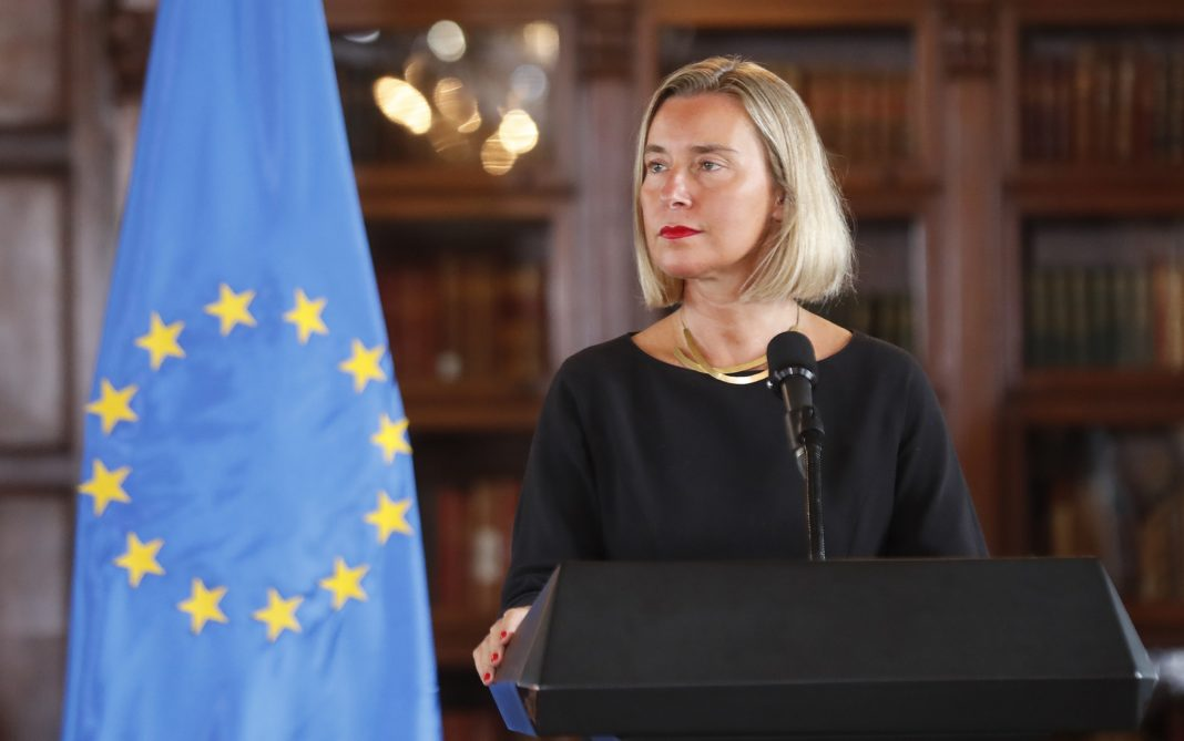 Mogherini meets with deputy PM of North Macedonia