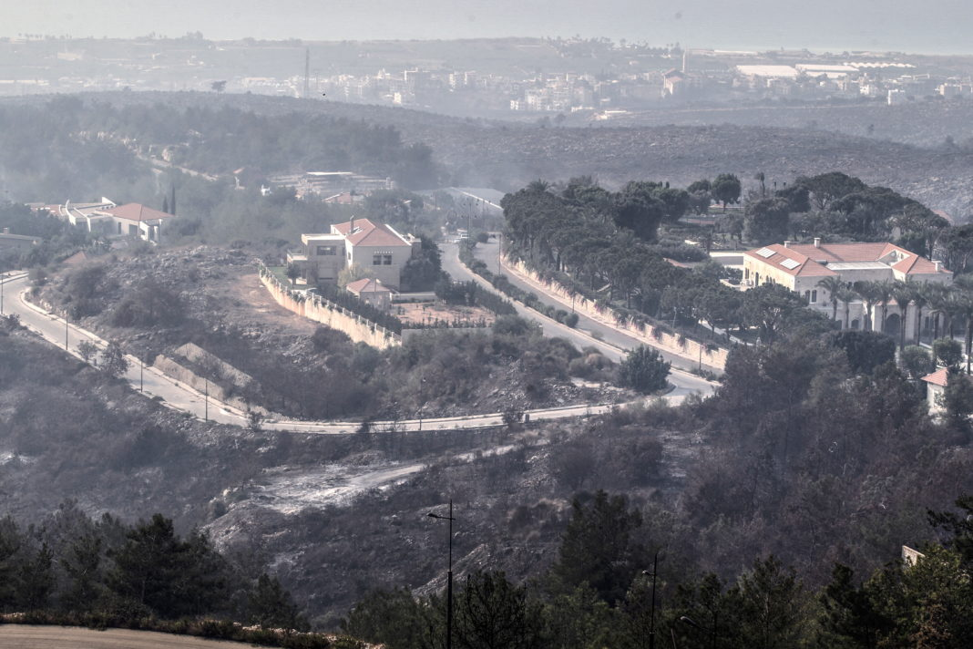 EU emergency tools to tackle Lebanon's forest fires