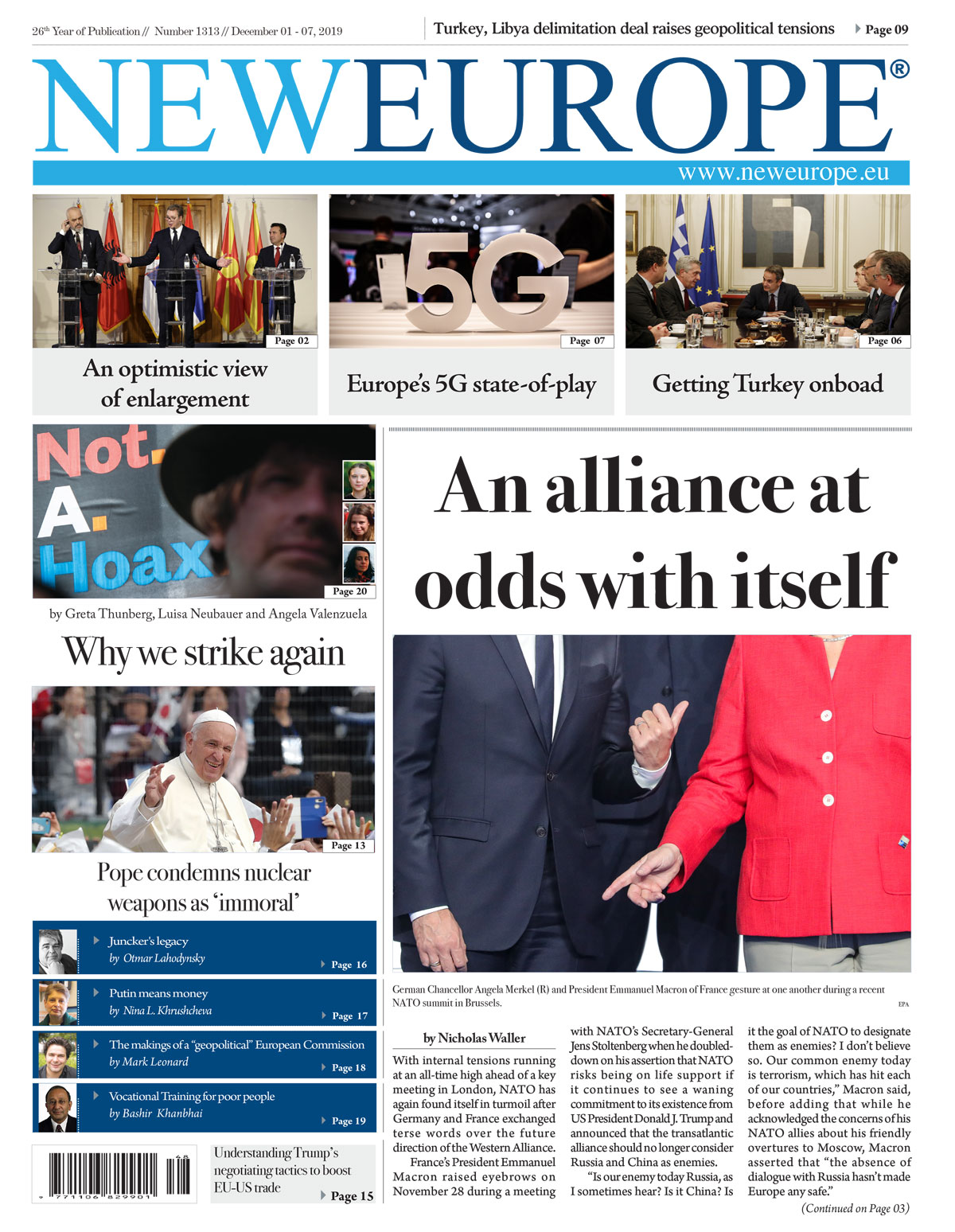 1313 1200 - Issue 1313: An alliance at odds with itself (Print Edition)