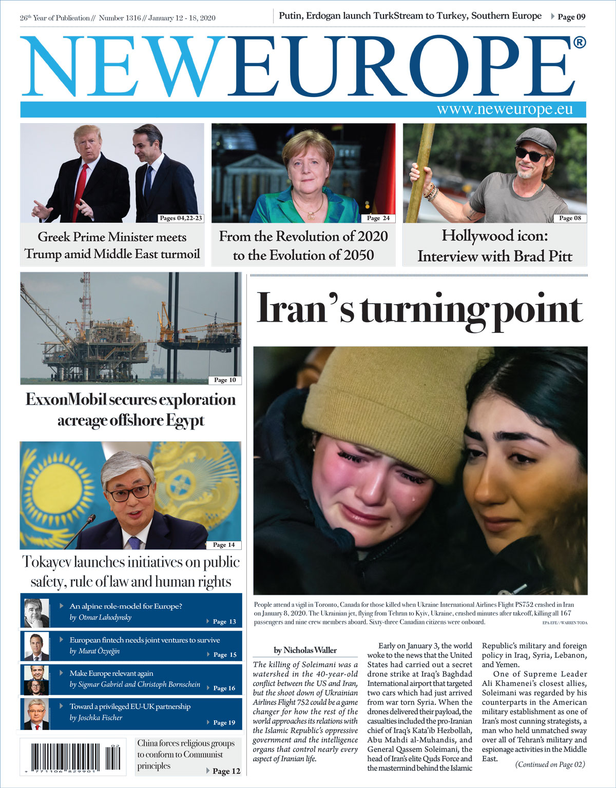 1316 1200 - Issue 1316: Iran's turning point (Print Edition)