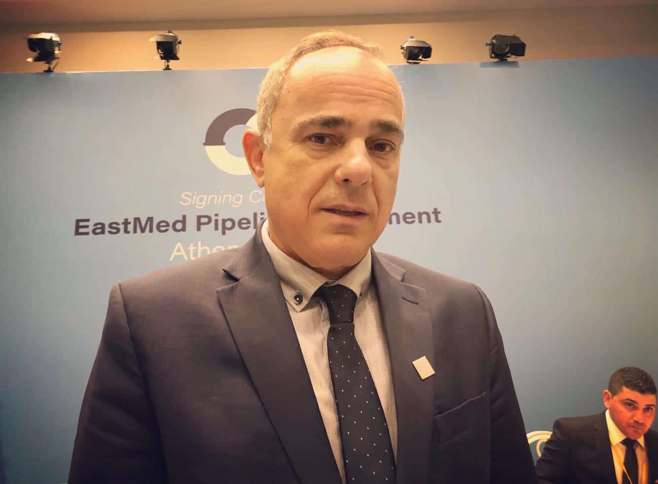Israeli 1 - Steinitz confident Israel and Cyprus can supply EastMed pipeline