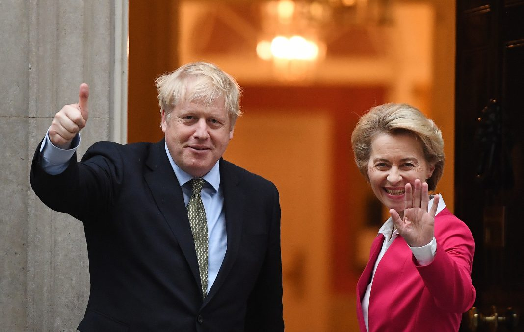 Boris Johnson plans Brexit talks with European Union head von der Leyen