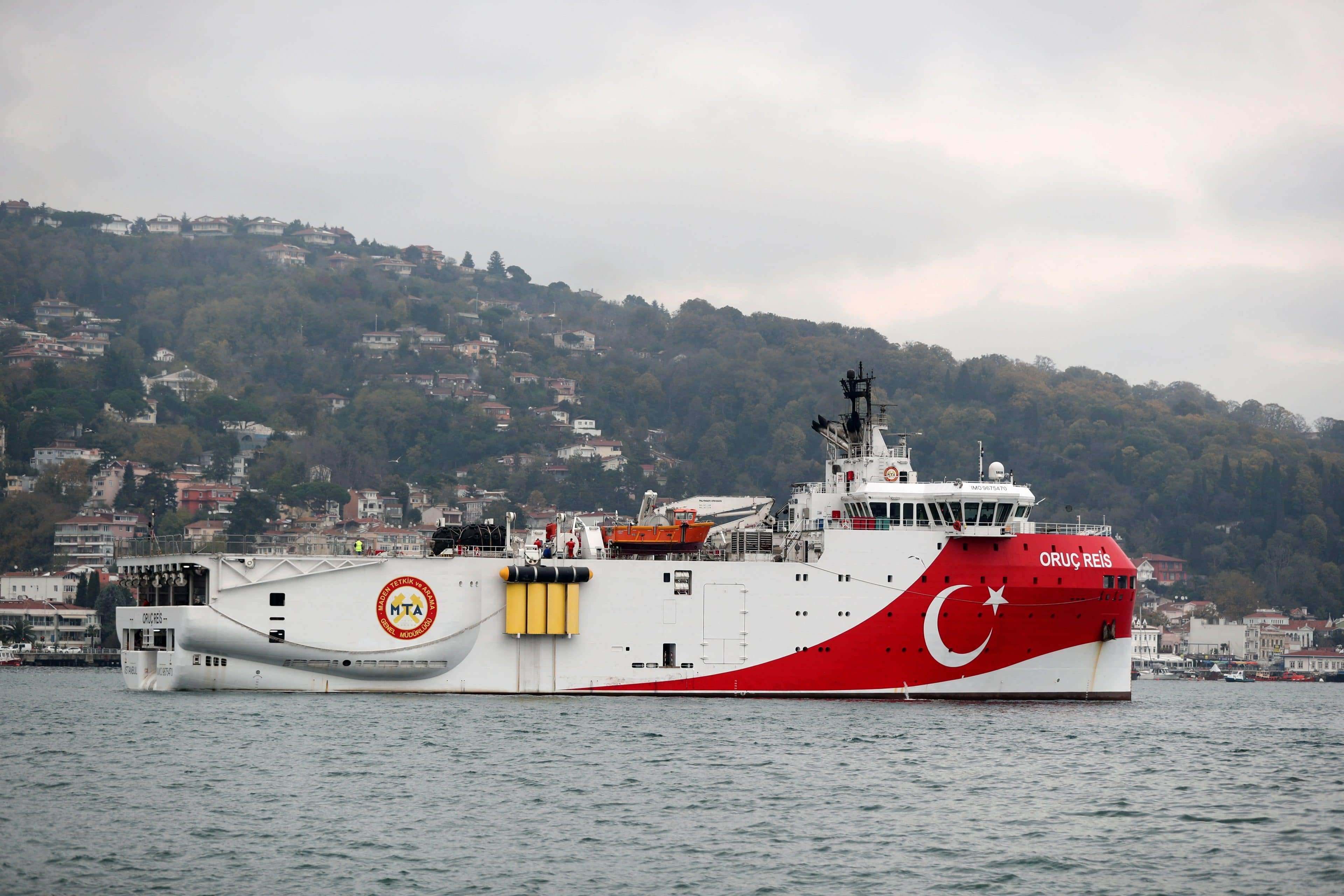 Ankara extends NAVTEX for Oruc Reis' exploration activities in the East Med