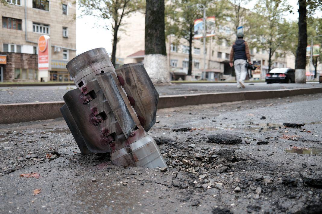 Russian de-miner killed by blast in Karabakh: ministry