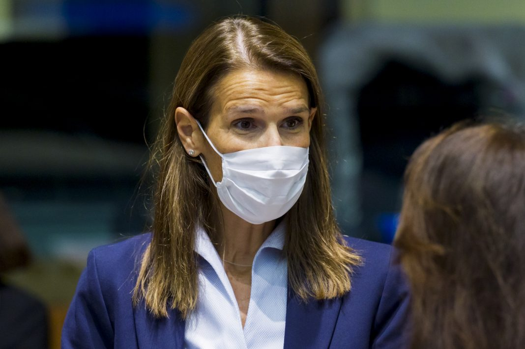 Belgian foreign minister in ICU with virus